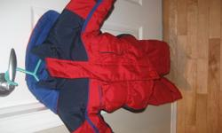 Columbia Boys Snowsuit Red and Navy Size 18 months