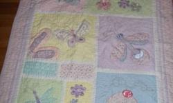 Kids Line Bedding set included is; two sheets one comforter bed skirt bumper pads  lamp laundry basket diaper stacker musical mobile 5 wall hanging decor window valance basket cover This was purchased for a little over $300 brand new from The Children's