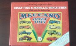 These 2 books are full histories of Corgi and Dinky Toys.  Best offer.