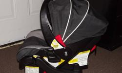 Cosco car seat with base, used for one child, expiry date 2016.  $50 obo.