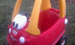 Needs a little cleaning, but in very good condition. No cracks wheels are sturdy, everything works. $30
