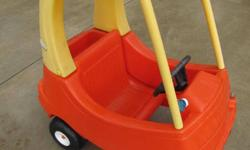 I have a sturdy Cozy Coupe by Little Tikes for toddlers in good used condition, clean from a non smoke/no pet home. asking only $30. firm