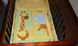 Crib Make: Graco, Model: Lauren convertible, Colour: Espresso,3 mattress height positions, complete with mattress and mattress pad. New condition as at grandmas house and just used a couple of times on visits. Also available for an additional $50.00 are a
