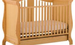 We have a crib in great condition it also has drawers on the bottom of the crib. When you dont need the crib an more it can be used as a frame for a double bed. I would like $200 but i will take best offers. If you have any questions please contact me at