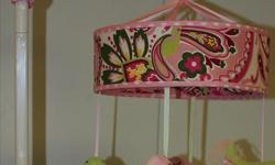 2 - MUSICAL CRIB MOBILES - $10 EACH