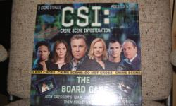 CSI Board Game, brand new and never been used or opened. Good for ages 13 and up.