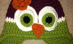 Super cute owl hat. Fits 12-18 months This ad was posted with the Kijiji Classifieds app.