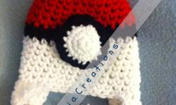 This is 1 sized 3-6 month pokeball themed hat. Ive made this myself as well as many other hats in the celiacreations facebook page This ad was posted with the Kijiji Classifieds app.