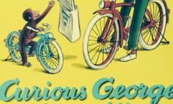 Small colourfully illustrated classic CURIOUS GEORGE - 3 soft cover books.