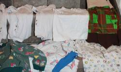 summer and winter Lots of name brands, OLD NAvy, Gap, Gymboree, etc. 5 pairs of shoes size 5 &6 4 summer outfits, 4 undershirts, 1 pull over fleece, 10+ shirts, some t-shirts, long, 2 sweater vests. and More! Shrek costume includes mask just not