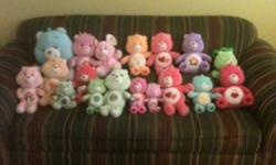 Cute Care Bears who served our family well, ready for new adventures at a new home: $2 a piece or $35 for entire family! This ad was posted with the Kijiji Classifieds app.