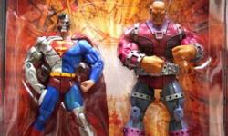 For sale is a New Toys R Us exclusive DC Universe Classics 2 pack Cyborg Superman and Mongul. In great condition!