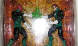 For sale is a NEW Toys R Us exclusive DC Universe Classics 2 pack Hal Jordan and Abin Sur. Great condition!
