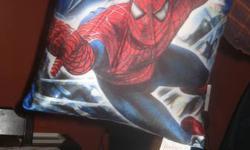 Decorative spiderman pillow