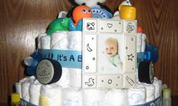Pewter Baby Picture Frame, First Curl and First Tooth Munchkin Bath Toy Set Johnson's Travel pack 2 spoons 2 pacifier 65- 70 #1 diapers 1 Beanie Baby I bottle of Clorox  Wipes