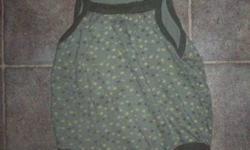 Girls summer/tank diaper shirt - good condition