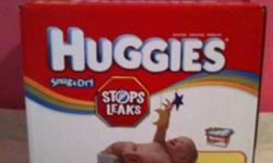 Brand new diapers sizes 1, 1-2 and 2. Huggies: $40 box Pampers: $30 for both Fisher price: $30 both This ad was posted with the Kijiji Classifieds app.