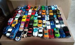 mostly hot wheels very good condition. approx 94 in total