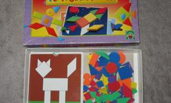 Playful Patterns - -missing a few foam blocks but shouldn't make a difference - -all cards are there