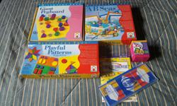 For sale are 4 Discovery Toys games. $10 AB Seas $10 Playful Patterns $5 Think It Through $5 Whiz Kid Or $25 for them all!