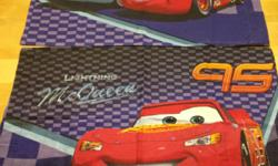 Disney Cars Full Sheet Set with Comforter: $60 ============================================== - From a smoke free home. - In good condition. - Includes comforter, flat sheet, fitted sheet and two pillow cases - Approximate measurements: -- flat sheet:
