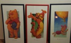 Disney Winnie the Pooh and the Gang 36 inches high 20 inches wide excellent condition nice for a kid's room