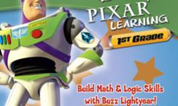 I am offering a 1st Grade Learning CD featuring Buzz Lightyear. Ages 5 - 8 The item is in like new condition.   System Requirements: Windows 7, Vista, XP   Price is $10 firm.   More info can be obtained here: http://kidsclick.com/descrip/buzz_1st.htm .
