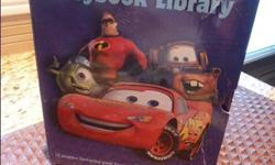 This is a Disney Pixar STORYBOOK LIBRARY Boxed set of 12 books complete and in excellent, near new condition. Published in 2008 and is complete with box case that holds the twelve books. All books are hard cover. Titles include: Cars: Off the Fast Track