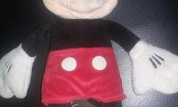 Disney plushes bunny ear mickey & minnie classic mickey mouse and 2 winnie the pooh plush toys one is a type of rattle eeyore plush and nemo plush asking $25 for all in excellent condition pick up only queen street south and bold hamilton