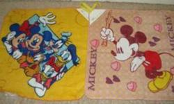 Mickey Mouse & Friends Wash Cloths(2pc set) Cloths have name tag & loop to hang up cloth New Condition MAKES A GREAT GIFT Serious Inquires ONLY! Please EMAIL, do NOT leave your phone Number.