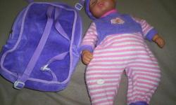 Great for child to wear a pack back and fill with things and carry their doll also.