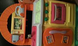 Dora Kitchen Set for sale, in good shape.
