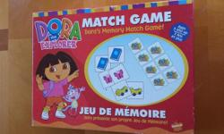 Memory match game. 80 pieces in excellent condition. Ages 3 and up. Non-smoking, pet-free home. $5 firm
