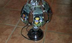Touch lamp that works like new. This is the second one that we have and the other sold quickly. We are moving and have a great deal of Dora/other toys to sell. She has outgrown them and we are downsizing. Want to move $8obo