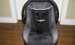 excellent condition. Expires in 2015. we recieved 2 car seats as gifts last year, so this one was only used as a spare. good for up to 22 LBS. has the base with it. if interested call 778-470-0108, ask for Charlene