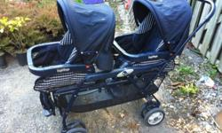 I am selling a Peg Perego double stroller ($40) as well as a grayco single stroller($10) An umbrella stroller ($5) and two playpens ($20each)