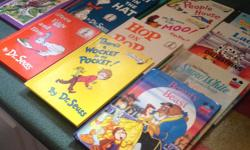 A collection of 25 kid's books with 7 Dr. Suess, 5 Disney titles, 4 Goodnight Sleep Tight Storybooks and 9 miscellaneous including Anne Of Green Gables and Alice in Wonderland, etc. I have some other children's items listed, open to offers if interested