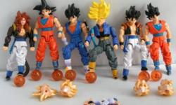 Dragonball Z Japanese Action figure Lot set of 6 New! 'Condition :100% Brand New Description: Size: About 13-15CM high Material: PVC Condition: NewPacking:  The item without original packing.