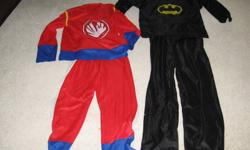 3 dress up costumes. Asking $6.00 each or $15.00 for all 3