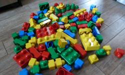 90 Blocks include a duplo caterpillar and figure. Ideal for babies and toddlers. Downtown, Ottawa Price is firm.