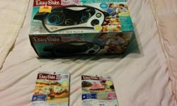 For Sale Easy Bake Oven Bought at Christmas Time, but used only once. Comes still in the box and perfect shape. Comes with 2 food kits, one is for cup cakes which comes with a cooking tray, and the other is for mini pizzas. $50 Firm will not hold first