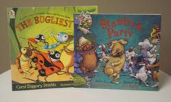 Titles * Stanley's Party - a dog's unruly experiments while left alone at home drive his owners, much to his delight, to take him with them whenever they go out * The Bugliest Bug - the story of an introverted bug turned hero; illustrations are colourful