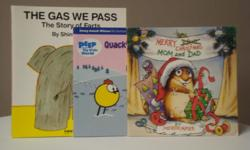 Titles * The Gas We Pass * Quack's Masterpiece * Merry Christmas Mom and Dad Like new.