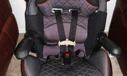 Eddie Bauer Car Seat Excellent Condition expires in 2014 - Forward-facing with harness for infants 22-40 lb. - Converts to belt positioning booster seat for kids 40-80 lb.