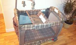 Playpen in excellent condition, very clean, smoke & pets free, like new. The company has confirmed that there has not been a recall on this product.  Asking $115 or best offer.