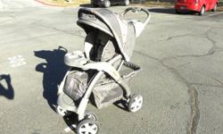 In prestine condition. $100 or best offer!! Can attach infant seat to it. Stroller holds children up to 50 pounds and features 1-hand fold'n stand with a self locking feature, a storage basket with easy, spring-down access and a multi-position reclining