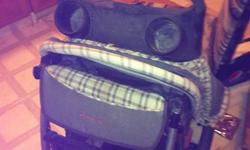 The eddie bauer stroller is in great condition it also comes with a car seat that snaps into the stroller so that you can use the stroller for a new born baby. The reason we are selling it is because we dont have any more small children. We would like to