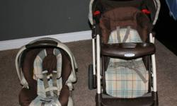 I am selling my Euro Graco Car seat/stroller combo.  It is in great condition and comes from a smoke free home.  The car seat is good from 5-30lbs (most are good only until 22lbs) and 81cm(32inches) and has never been in an accident also comes with base