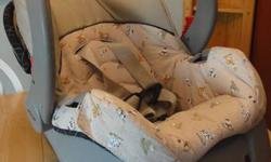 Evenflo car seat. Great condition, no rips or stains. Was manufactured in 2008, good until 2014. No accidents From a smoke free and pet free home. $20.00