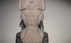 NEW CONDITION BOUGHT FOR OCCASSIONAL BY GRANDPARENTS SIDE RETRACTABLE CUP/FOOD TRAYS TWO ARM RESTS (MOVABLE UP & DOWN) FOR TODDLERS 40 TO 100 POUNDS $30.00 PH 705-942-5744